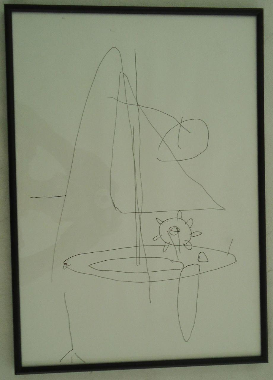 Técnica – Desenho s/ papel 40X30cm [AME059C]