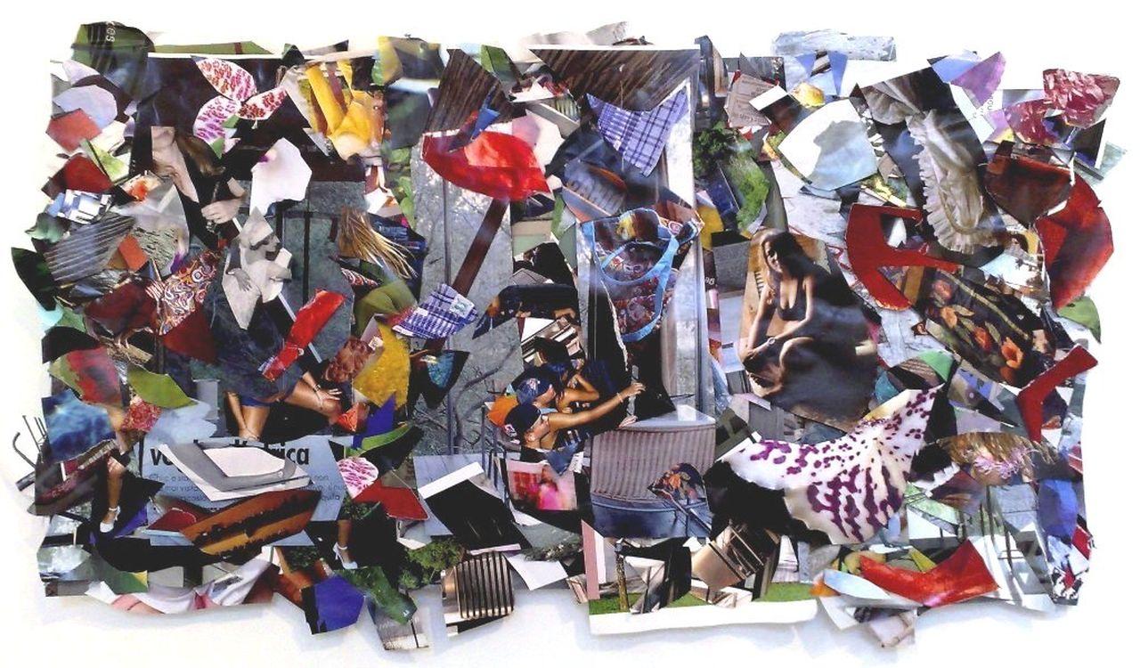 Colagem s/ papel 55X41cm [AMS003]
