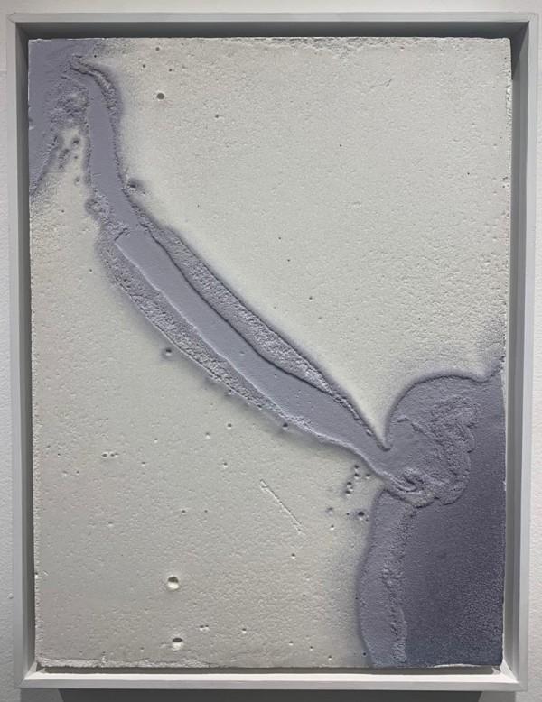 Gesso e acrílica s/ madeira 43X33cm [EB105]