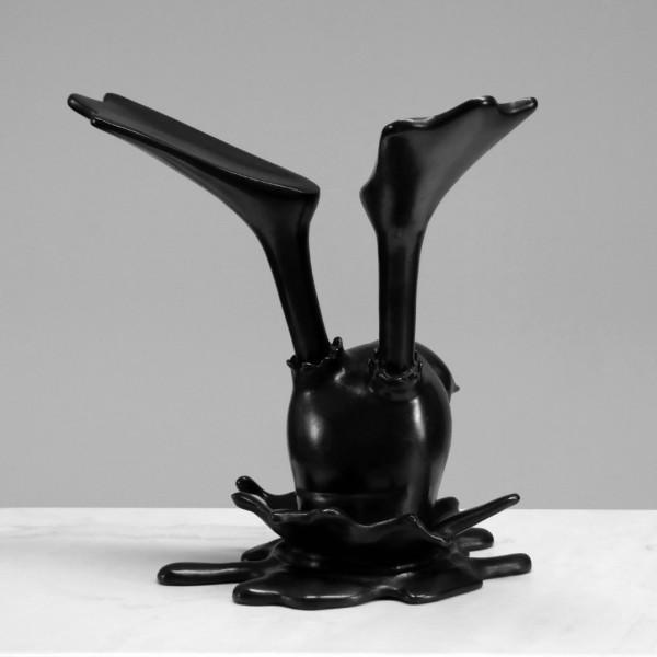 Bronze patinado 31X30X30cm [ECU062]
