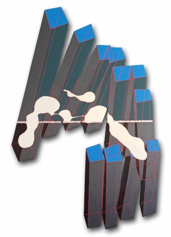 Acrílica sobre madeira 147X86cm [GS014]