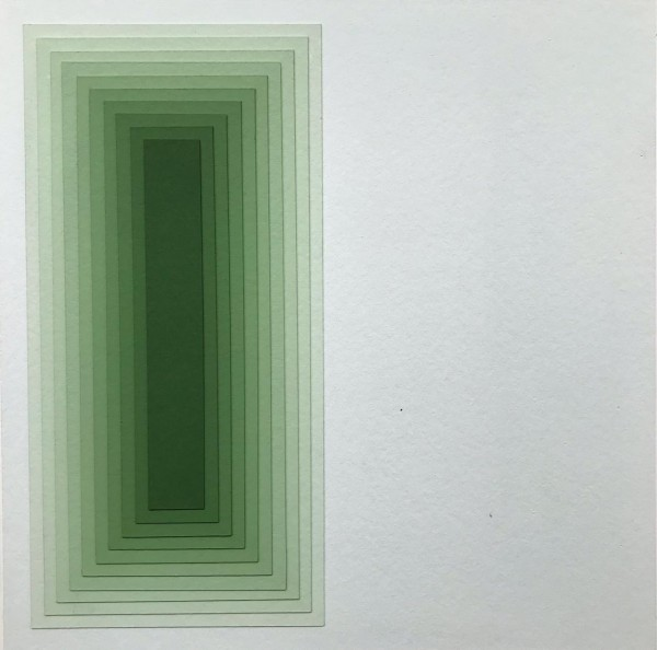 Acrílica sobre papelão Paraná 53X53cm [JEA008]