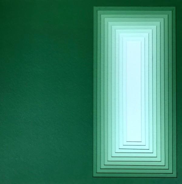 Acrílica sobre papelão Paraná 53X53cm [JEA009]