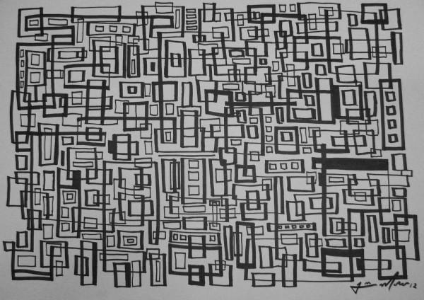 Aquarela s/ papel 42X60cm [JOM032]