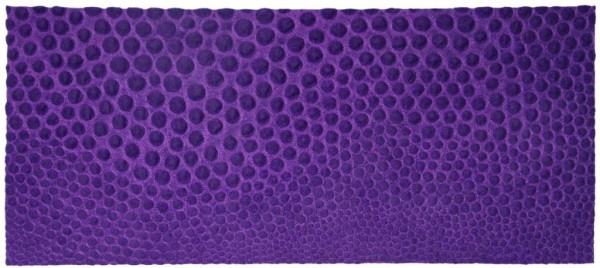 Costura sobre shantung de seda artesanal feltrado a seco 35X80cm [VFI004]